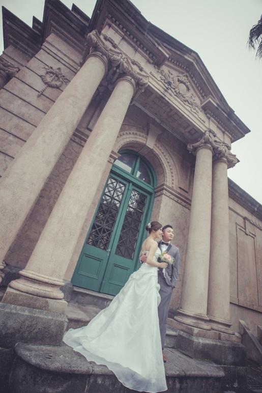 歐式建築婚紗攝影-台北婚攝ODi