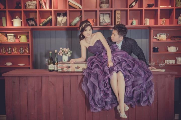 貴氣時尚婚紗-台北婚攝ODi