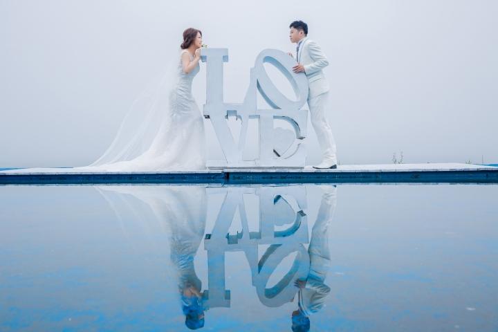 浪漫教堂婚紗照-台北婚攝ODi