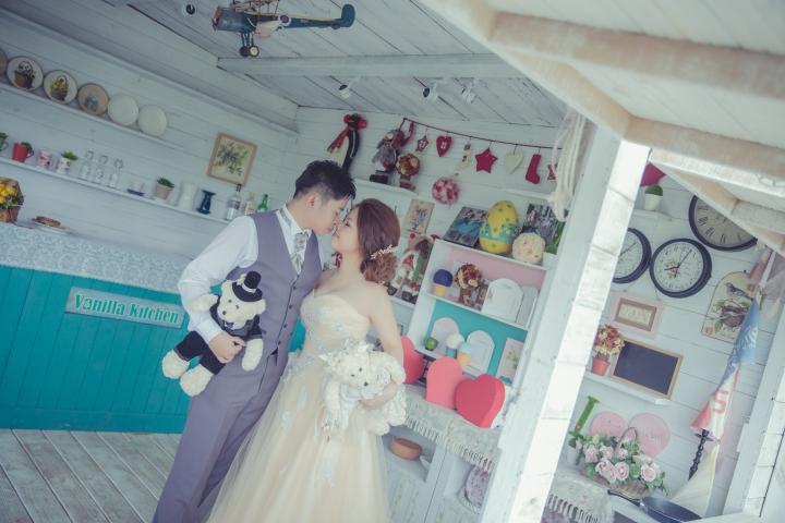 咖啡廳婚紗照-台北婚攝ODi