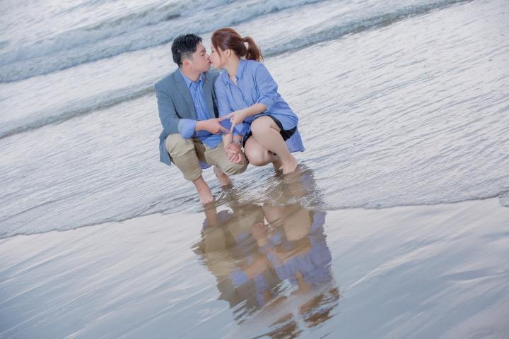 海灘便服婚紗照-台北婚攝ODi