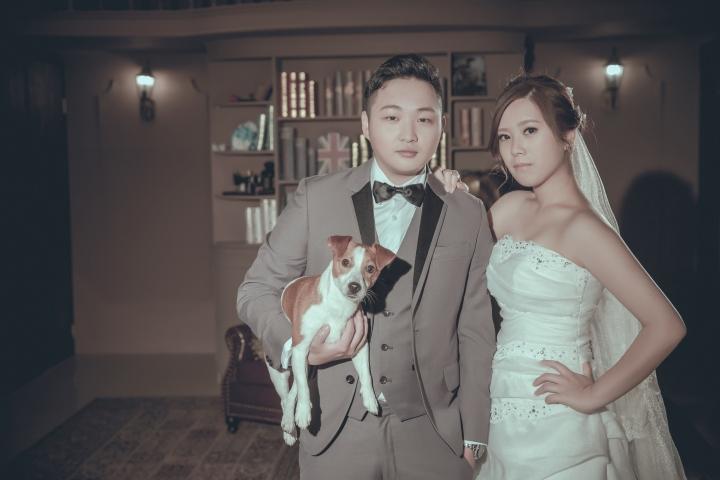 寵物婚紗照-台北婚攝ODi
