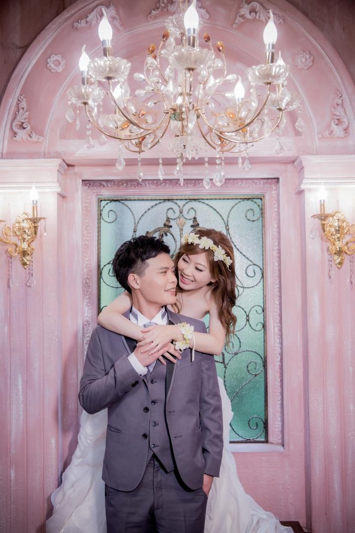 華麗宮廷風格婚紗照-台北婚攝ODi