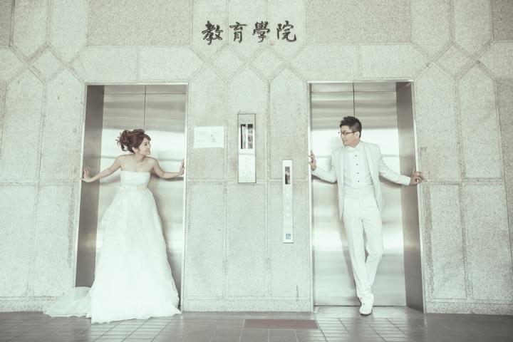 校園故事主題婚紗照