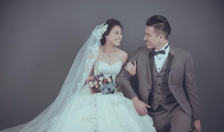 經典素背景婚紗照-婚攝ODi