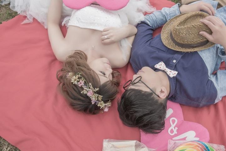 野餐婚紗照