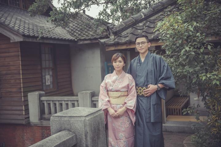 日式風格婚紗照