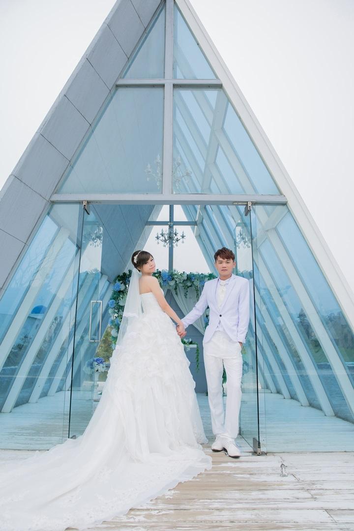 教堂自助婚紗攝影-台北婚攝ODi