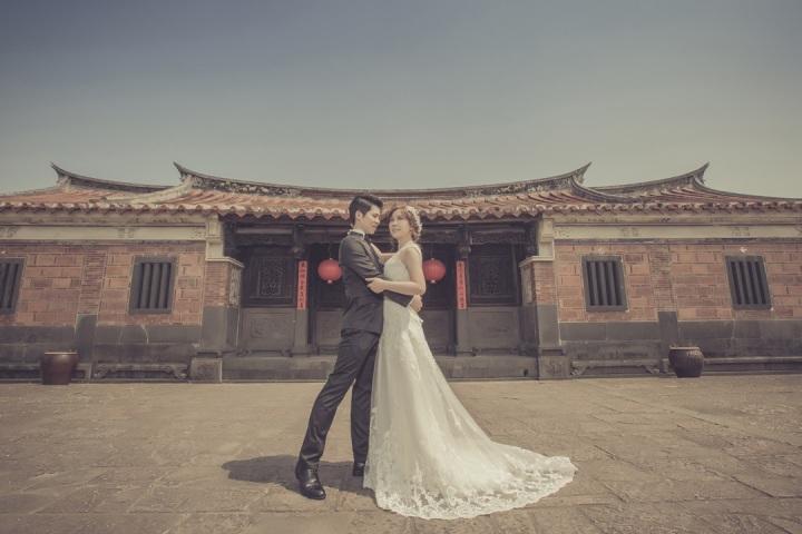 中式建築婚紗攝影-台北婚攝ODi