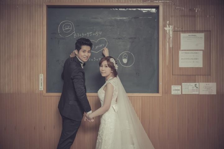 校園回憶婚紗-台北婚攝ODi