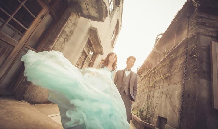 晚霞自助婚紗攝影-台北婚攝ODi