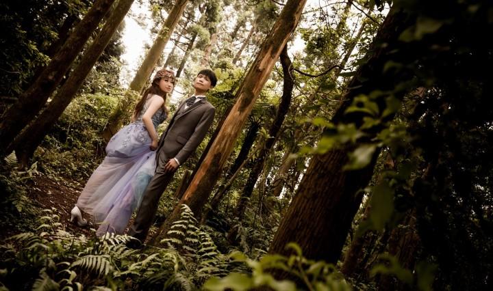 森林系婚紗照-台北婚攝ODi