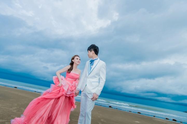 沙灘婚紗攝影-婚攝ODi