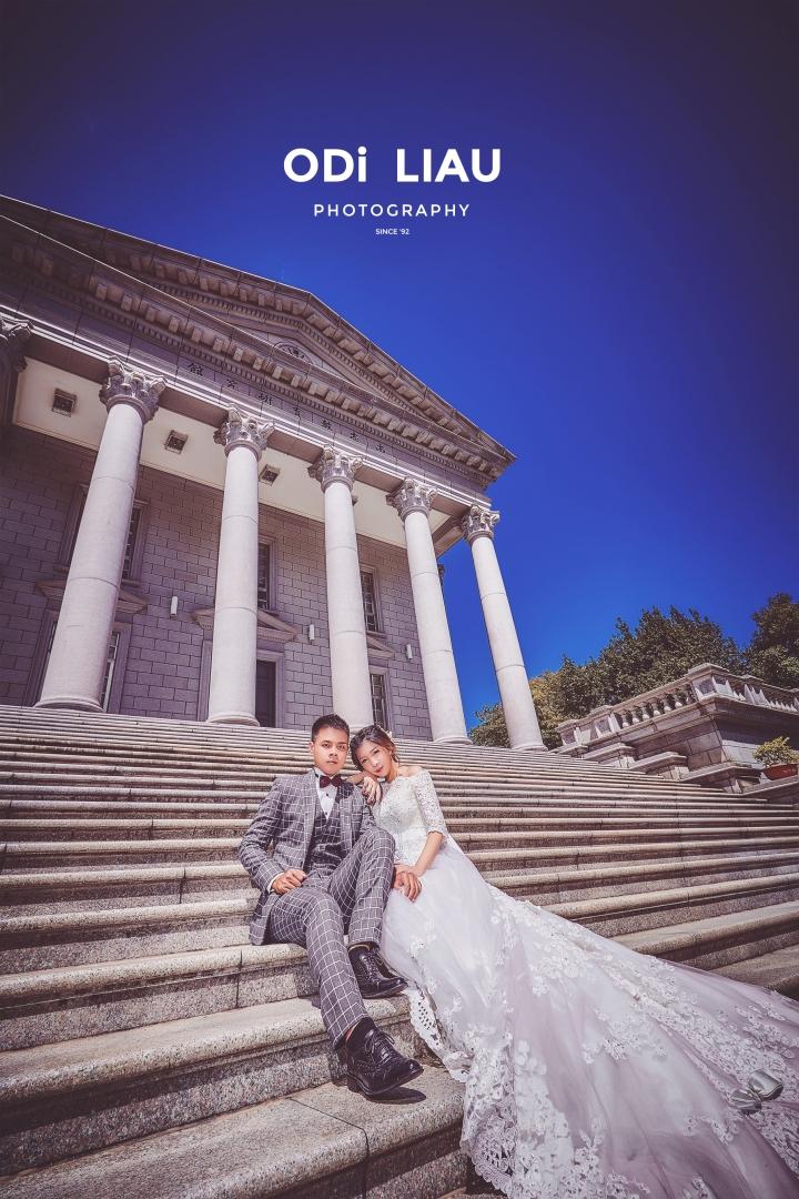 婚攝ODi: 婚紗攝影-大同大學-唯美夢幻風格
